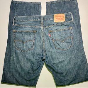 Levi's jeans men's 527 bootcut size 34 x 34